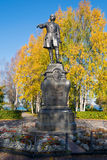 Peter the Great, Petrozavodsk, Karelia, Russia retouched Stock Photo