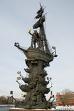 Peter The Great Statue Royalty Free Stock Images
