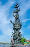 Peter the Great statue Stock Images