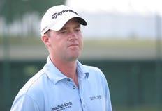 Peter Hanson (SWE) het Golf het Frans opent 2009 Royalty-vrije Stock Foto