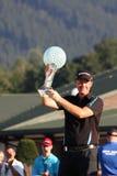 Peter Hanson winner of Czech Open. CELADNA, CZECH REPUBLIC - AUGUST 22: Peter Hanson winner of Czech Open, European Golf Tour, August 22, 2010, in Celadna Stock Image