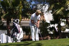 Peter Hedblom no golfe aberto, Marbella de Andalucia Imagem de Stock