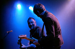 Peter Hook, Joy Division and New Order bassist, performs Unknown Pleasures at Apolo Stock Images