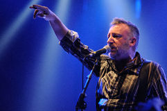 Peter Hook (Joy Division) performs at Apolo Stock Photo