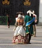 Peter I e Ekaterina grandi Fotografia Stock