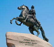 Peter I monument Royalty Free Stock Photography