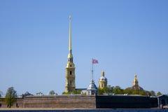 Peter i Paul forteca, święty Petersburg, Rosja Fotografia Stock