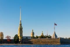 Peter i Paul katedra, święty Petersburg, Rosja Zdjęcia Royalty Free