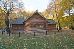 Peter I wooden house in Kolomenskoye Royalty Free Stock Images