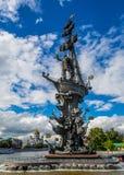 Peter il grande monumento Fotografia Stock