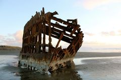 Peter Iredale Royalty Free Stock Photos