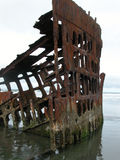 Peter Iredale Shipwreck Royalty Free Stock Photography