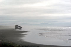Peter Iredale Wreck stock photography