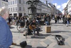 PETER JONES  BRITISH SINGER PERFOMING IN COPENHAGEN Stock Image