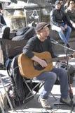 PETER JONES  BRITISH SINGER PERFOMING IN COPENHAGEN Royalty Free Stock Photo