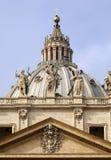 Peter kopuły s st. Fotografia Royalty Free