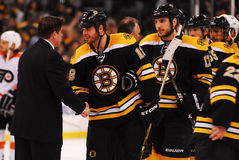 Peter Laviolette and Nathan Horton Royalty Free Stock Photos