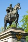 Peter le grand monument, St Petersburg, Russie Images libres de droits