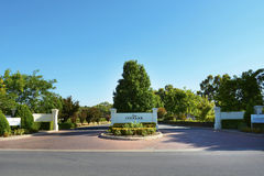 Peter Lehmann Winery at Barossa Valley, South Australia. Royalty Free Stock Photo