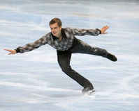Peter LIEBERS (GER) free skating Stock Images