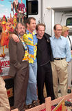 Peter Lord,Rooster,Jeffrey Katzenberg,Mel Gibson,Nick Park Stock Image