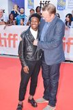 Actor Lamar Johnson and Peter MacKenzie at KINGS premiere at toronto international film festival 2017 Stock Photography