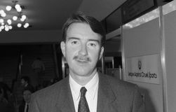 Peter Mandelson. Labour party Member of Parliament for Hartlepool, visits the Labour conference in Brighton, England on October 1, 1991 Stock Photo