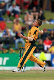 Peter Matthew Siddle Australian Bowler Stock Photography