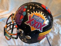 Peter Max Super Bowl XXIX Helmet royalty free stock photography