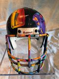 Peter Max Super Bowl XXIX Helmet stock image