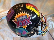 Peter Max Super Bowl XXIX hjälm arkivbild