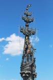 Peter o grande monumento em Moscou Fotos de Stock Royalty Free