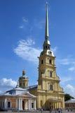 Peter och Paul domkyrka i St Petersburg, Ryssland Arkivbilder