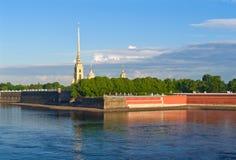 Peter och Paul Fortress Fotografering för Bildbyråer