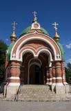 Peter och Paul ortodoxt kapell i Lipetsk, Ryssland Royaltyfria Foton