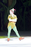 Peter Pan. GREEN BAY, WI - MARCH 10:  Peter Pan on skates at the Disney on Ice Treasure Trove show at the Resch Center on March 10, 2012 in Green Bay, Wisconsin Stock Photos