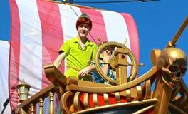 Peter Pan at Disney's Magic Kingdom Stock Photos