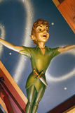 Peter Pan Flying Royaltyfri Foto
