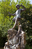 Peter Pan Statue in London Stock Photography