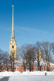 Peter and Paul Cathedral Royalty Free Stock Photography