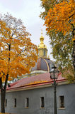 Peter and Paul Cathedral in autumn Royalty Free Stock Photography