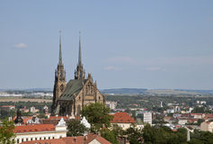 Peter and Paul cathedral in Brno Royalty Free Stock Image