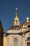 Peter and Paul Cathedral. In Peter and Paul Fortress, St Petersburg Stock Photography
