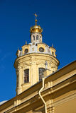 The Peter and Paul Cathedral. Grand Ducal Burial Vault Royalty Free Stock Photo