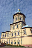 Peter and Paul cathedral in Kazan. On a cloudy day Royalty Free Stock Photo