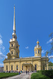 Peter and Paul Cathedral in Saint Petersburg, Russia Royalty Free Stock Photography