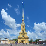 Peter and Paul Cathedral in Saint Petersburg, Russia Stock Photos