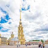 Peter and Paul Cathedral in Peter and Paul Fortress, Saint Petersburg Royalty Free Stock Photos