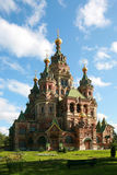 Peter and Paul Cathedral at Peterhof Royalty Free Stock Images