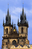 Peter and Paul Cathedral in prague Stock Images